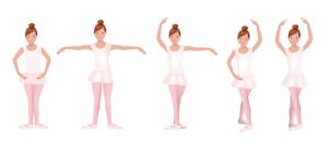 Posiciones básicas pies danza clásica